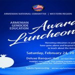 Armenian Genocide Educators to be Honored at ANCA-WR Luncheon