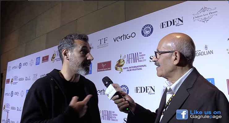 Wally Sarkeesian Interview the Famous Armenian musician Serj Tankian called to stay away from Monsanto products.