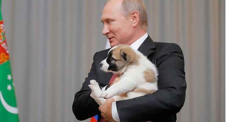 Putin The dogs bark, but the caravan moves on