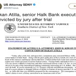 Breaking News: U.S. jury finds Turkish banker guilty of helping Iran dodge sanctions