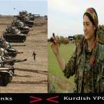 "The paper Tiger #Turkey's Operation in Northern #Syria ""Woman VS Tank"""