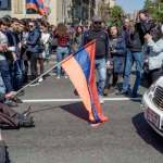 Protests Grow As Armenian Demonstrators Seek To Stop Ex-President From Becoming Prime Minister