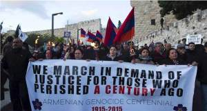 Israeli right shifts stance on Armenian genocide amid Turkey spat