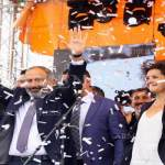 Nikol Pashinyan delivers first remarks at Republic Square after election as Armenia's PM