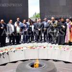 Tribute to memory of Pontian Greek Genocide victims held in Yerevan