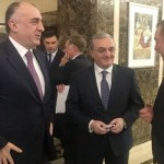 Armenia FM in Belarus, chats with Azerbaijan counterpart