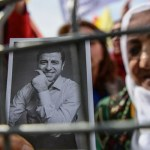 Turkey's Kurdish presidential candidate Demirtas forced to campaign from prison