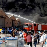 Iraq ballot warehouse up in flames before election recount