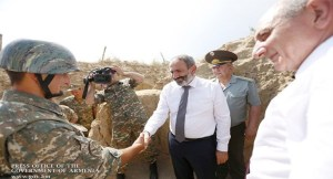 Armenian PM visits military outposts in Artsakh