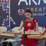 "Nur (pomegranate) Qanon Ensemble ""They as tall as their instruments"""