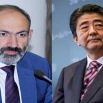 Armenian PM sends condolence letter to Japanese counterpart