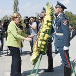 Angela Merkel pays tribute to the victims of the Armenian Genocide