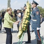 Despite an Encouraging Visit to Armenia, Chancellor Merkel Didn't Say Genocide