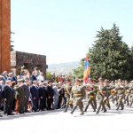 Presidents of Artsakh and Armenia take part in Independence Day event in Stepanakert
