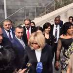 Brigitte Macron: We feel so good in Armenia that we do not want to leave