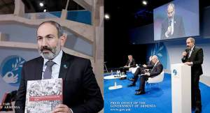 "Armenian Genocide, Wilson's '14 Points' Highlights Pashinyan Address at Armistice Event ""Video"""
