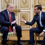 Trump, Macron attempt to defuse row over EU army proposal