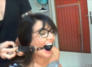 Milf gangster wife ball gagged