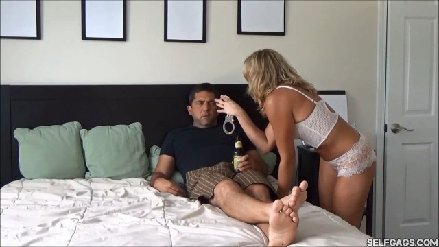 wife wants handcuff bondage selfgags