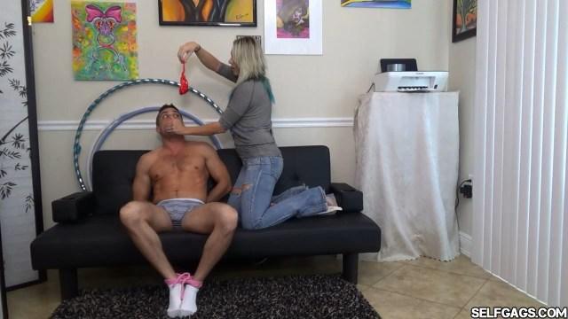 femdom handgag bondage selfgags