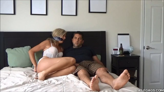 cleae gagged and hand cuffed wife selfgags