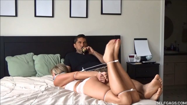hogtied and gagged wife selfgags