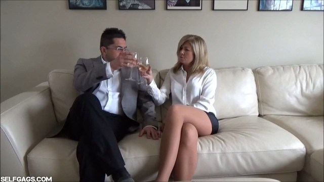 Milf attorney Dakkota Grey seduced into bondage