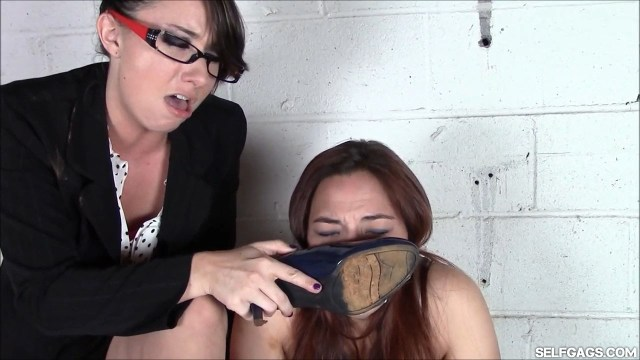 Teacher makes student smell her shoe