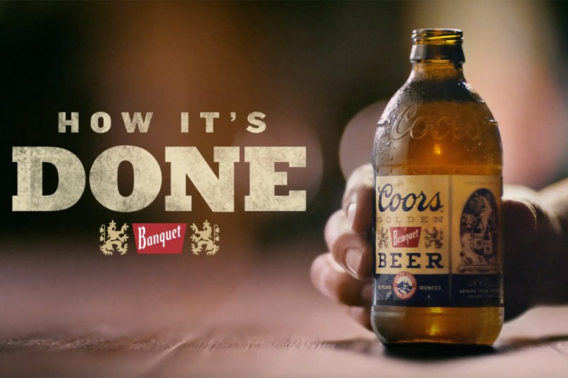 Coors light banquet beer commercial lightneasy millercoors takes on bud with more spending coors banquet cmo coors banquet tv commercial the beer ispot aloadofball Images