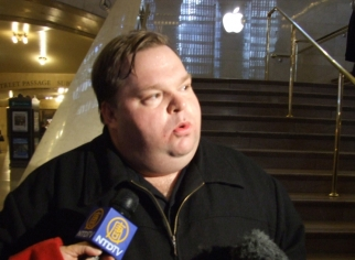 Monologist Mike Daisey, who visited consumer electronics factories in China in 2010