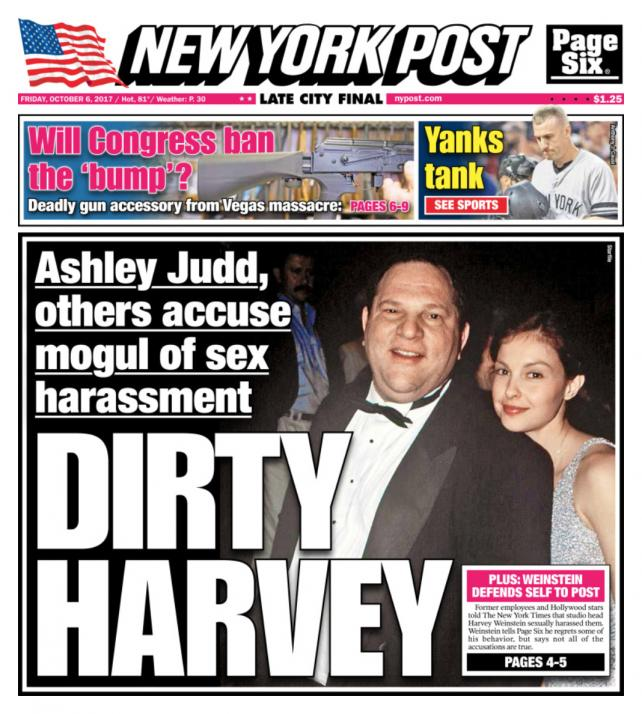 Image result for the new york articles about harvey weinstein