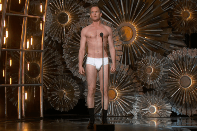 Neil Patrick Harris during the 2015 Oscars.