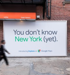 google maps targets new yorkers with real time data in outdoor push adage [ 2500 x 1667 Pixel ]