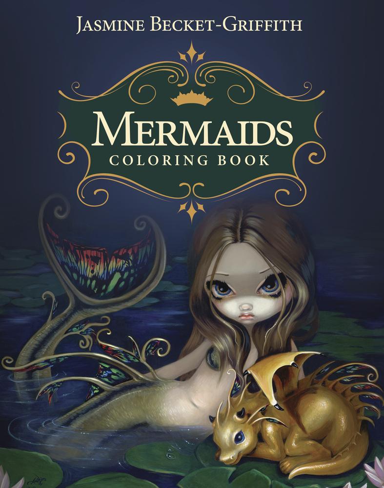 Llewellyn Worldwide Mermaids Coloring Book Product Summary