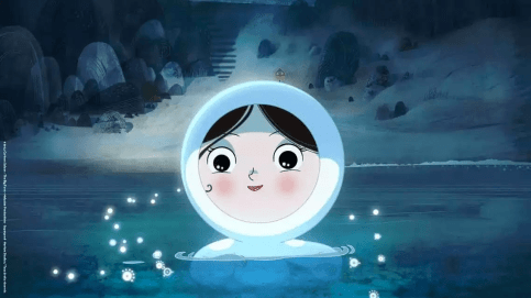 Song of the Sea - Saoirse and her Seal Coat