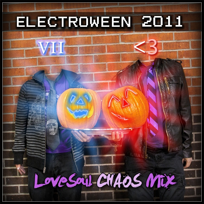 ELECTROWEEN 2011 - LoveSoul CHAOS Mix Artwork