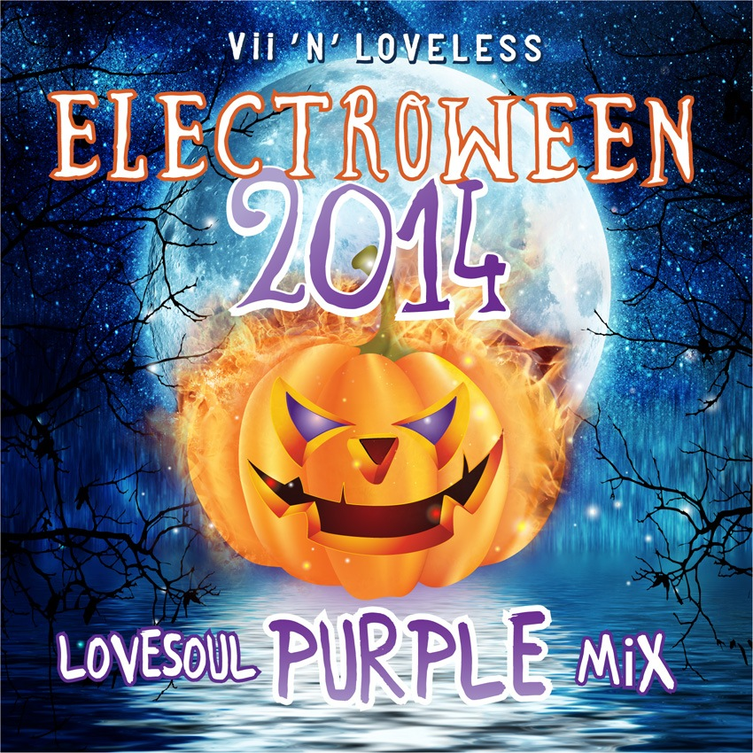 ELECTROWEEN 2014 - LoveSoul Purple Mix Artwork