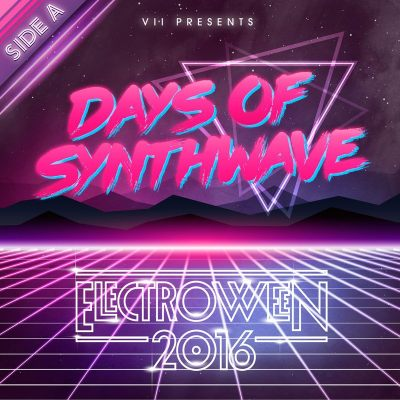 ELECTROWEEN 2016 - Days of Synthwave Mix Artwork