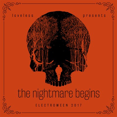 ELECTROWEEN 2017 - The Nightmare Begins Mix Artwork
