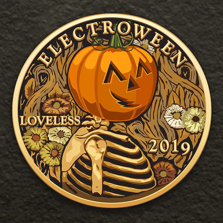 Loveless' Decade Celebration Mix Cover