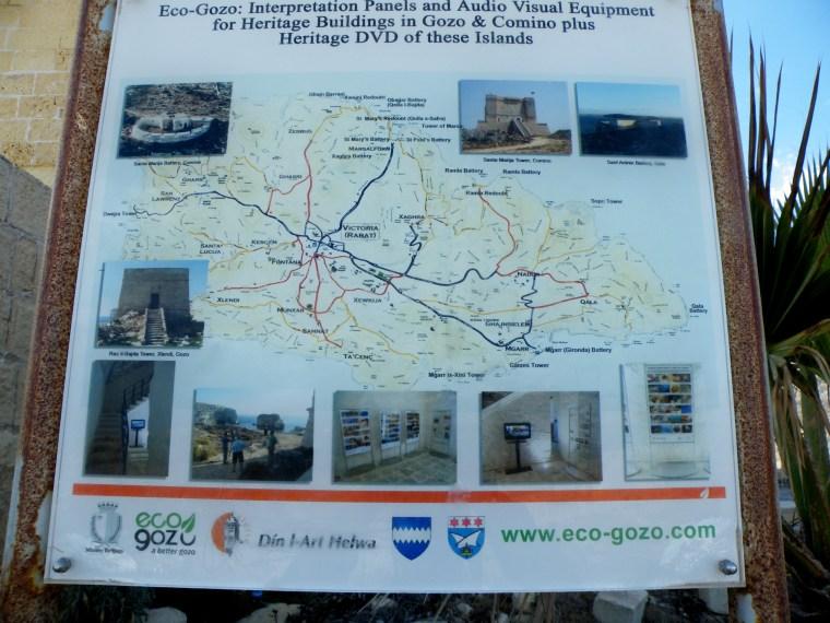 Ras il-Bajda Tower, Xlendi, Gozo