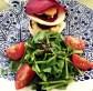 Mille-feuilles de légumes crus et salade de cresson à la truffe blanche Raw vegetables mille-feuilles & water cress with white truffle sauce 白松露百頁鮮蔬丘