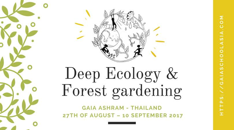 Deep Ecology & Forest Gardening Flyer