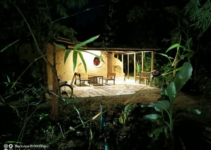 Gaia Cafe Natural Building Thailand