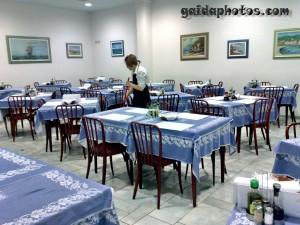 Italien Urlaub Riccione Hotel Baden Baden Speisesaal