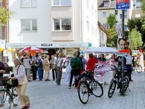 Freiheit der Andersdenkenden im Wahlkampf in Köln