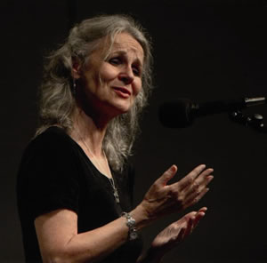 photo of Margaret in concert