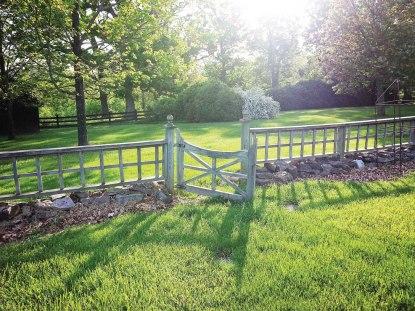 A gate at Gaie Lea