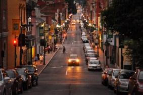 Beverley Street in downtown Staunton, Virginia