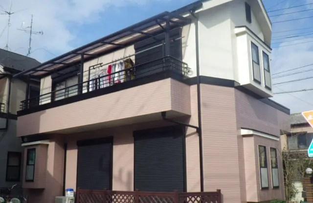 E様邸(埼玉県 越谷市) 外壁塗装施工事例